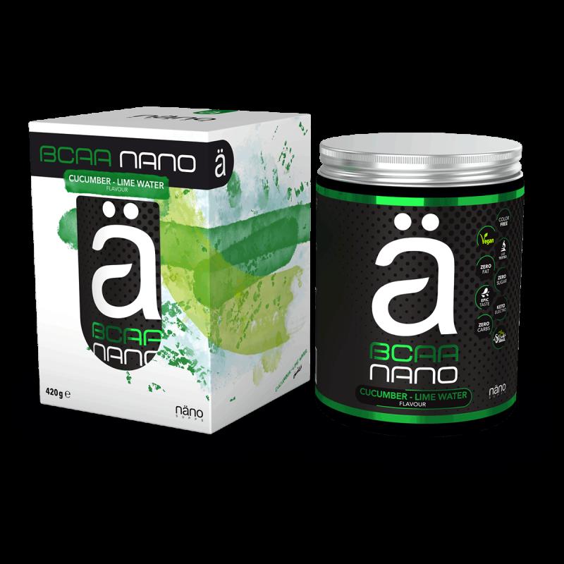 NANO BCAA - Cucumber-Lime Water Nanosupps
