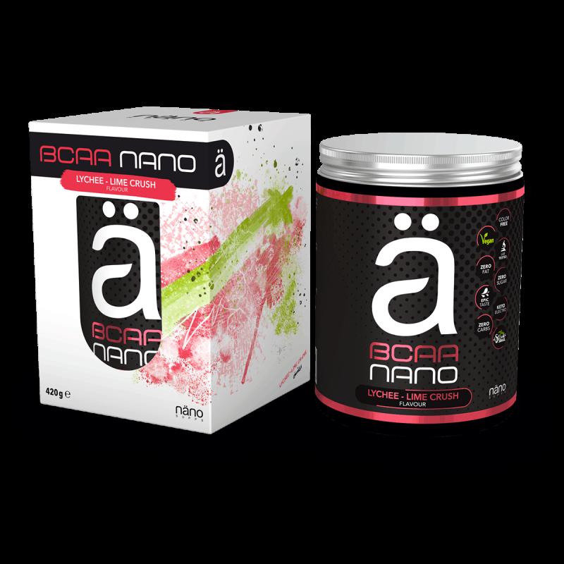 NANO BCAA - Lychee-Lime Crush Nanosupps